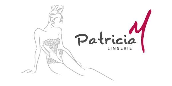 Logo Patricia M Lingerie client de Communique et Vous