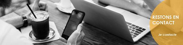 Prendre contact avec Communique et vous pour mobile